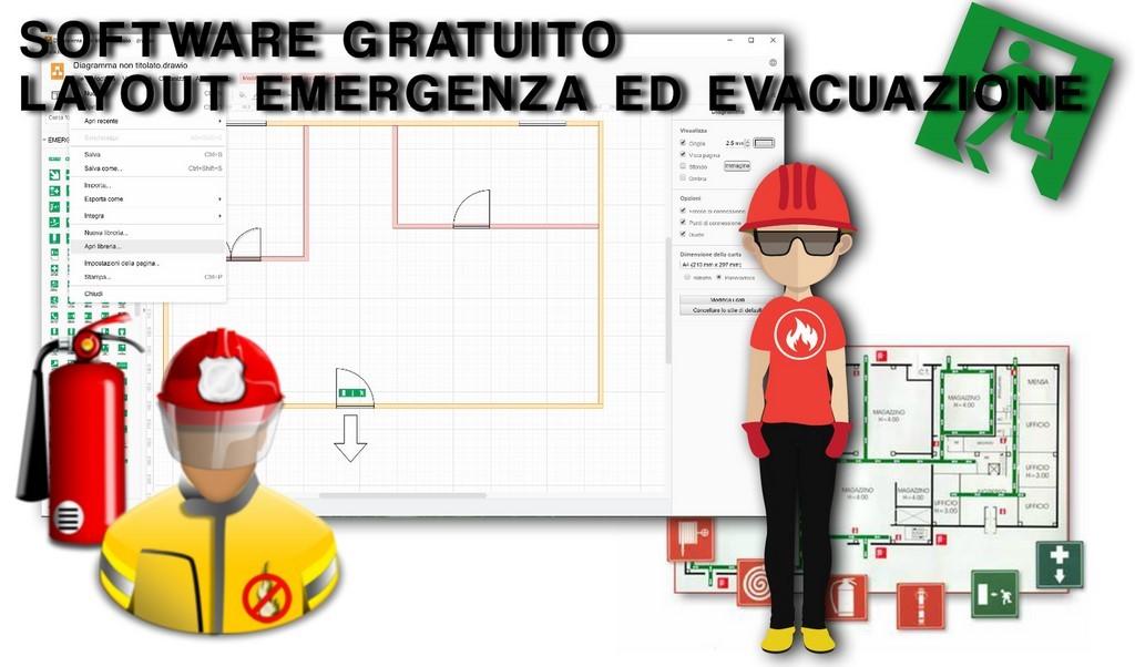 Software vettoriale gratis planimetrie emergenza ed for Software per planimetrie