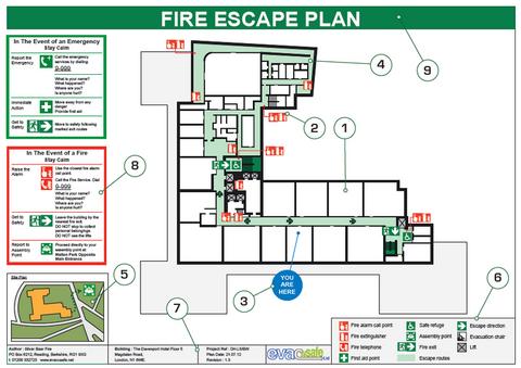 Plaminetrie antincendio esodo for Planimetrie con stanze segrete